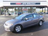Grab a steal on this 2014 Honda Civic Sedan LX while we