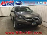 2014 Honda CR-V EX-L AWD ready and waiting! With great