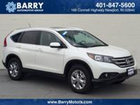 This 2014 Honda CR-V EX-L is proudly offered by Barry's