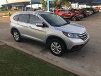 We are excited to offer this 2014 Honda CR-V. When you