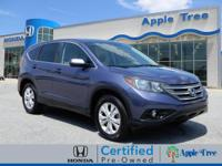 This 2014 Honda CR-V EX includes a braking assist, a