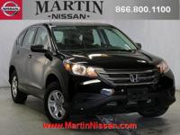 Carfax 1 owner!!! This 2014 Honda CR-V LX is proudly