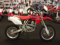 And the CRF150R is readily available in 2 versions to