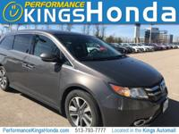 New Price! CARFAX One-Owner. 2014 Honda Odyssey Touring