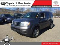 We are excited to offer this 2014 Honda Pilot. This