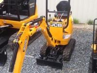 2014 JCB 8008 CTS Unit is canopy 15 hp single