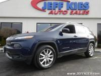This 2014 Jeep Cherokee Limited is offered to you for