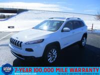 This 2014 Jeep Cherokee 4WD 4dr Limited is offered to