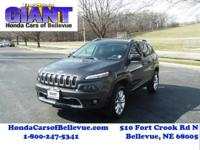 Check out this gently-used 2014 Jeep Cherokee we