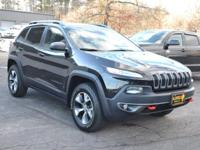 Step into the 2014 Jeep Cherokee! Comprehensive style