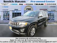 This 2014 Jeep Grand Cherokee Limited is proudly
