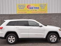 Bright White Clearcoat 2014 Jeep Grand Cherokee Laredo