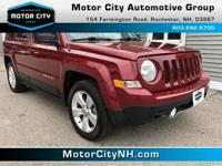 This is one great Jeep Patriot.  Want to feel like