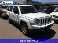 Bright White Clearcoat 2014 Jeep Patriot Sport 4WD