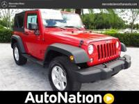 CLEAN CARFAX! ESSENTIALLY, A BRAND NEW JEEP WITH A LOW