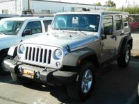 2014 Jeep Wrangler Unlimited 4dr 4x4 Sport Sport Our
