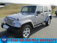 This 2014 Jeep Wrangler Unlimited 4WD 4dr Sahara is