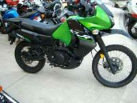 2014 KAWASAKI KLR650 NEW EDITION, Candy Lime Green /