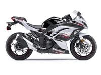 Compared with a lot of sportbikes the Ninja 300 ABS