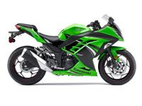Compared to most sportbikes the Ninja 300 ABS also