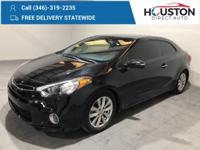 2014 Kia Forte Koup EX 25/34 City/Highway MPG Aurora