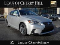 2014 Lexus CT 200h F SPORT Certified. CARFAX One-Owner.