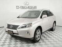 Take command of the road in the 2014 Lexus RX 350! It
