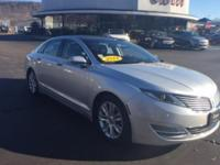 Check out this certified 2014 Lincoln MKZ . Its