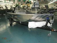 All welded hull. Drop in for an appearance or call us
