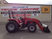 2014 Mahindra mPOWER 75 75HP 4WD Tractor With Loader