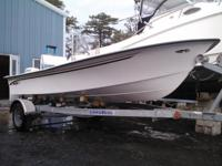2014 (NEW) MayCraft 1700CC with 40hp E-tec tiller. Most
