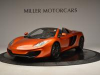 This is a McLaren, 12C for sale by Miller Motorcars.