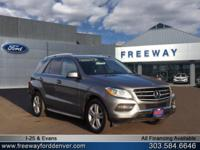 Palladium Silver Metallic 2014 Mercedes-Benz M-Class ML