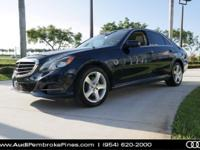 E 350, 4D Sedan, Indigo Blue Metallic w/Beige Leather