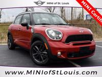 2014 MINI Cooper S Countryman ALL4 in Blazing Red. MINI