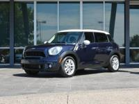 *MINI CERTIFIED PRE-OWNED WARRANTY THROUGH MAY 2019 OR
