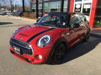 S trim. Excellent Condition, MINI Certified, CARFAX