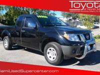 Options:  2014 Nissan Frontier S|Black|Black 2014