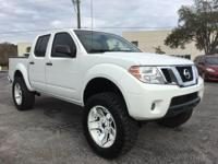 White 2014 Nissan Frontier SV 4WD 5-Speed Automatic