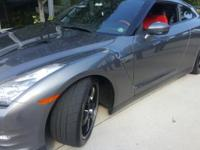 This 2014 Nissan GT-R Black Edition is proudly offered