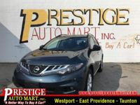 This gas-saving 2014 Nissan Murano S will get you where