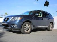 This 2014 Nissan Pathfinder S is offered to you for