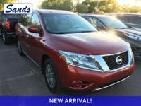 CARFAX One-Owner. Clean CARFAX. Cayenne Red 2014 Nissan