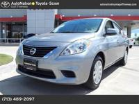 This 2014 Nissan Versa SV is provided to you for sale