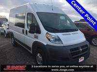 Bright White Clearcoat 2014 Ram ProMaster 2500 High