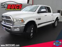 CARFAX One-Owner. Bright White Clearcoat 2014 Ram 3500
