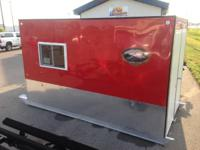 2014 6X12 Ridgeline Fish house  Includes:  Rear double