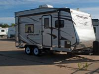 New Track and Trailer Toy Hauler. Travel Trailer. Model