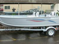 Let's Go Fishing, New 15' Alaskan w/walk with center