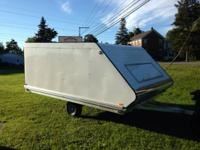 2014 SPORT HAVEN 12ft ENCLOSED SNOWMOBILE TRAILERS!!!!
